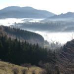 Schemnitz: Inversionswetterlage in UNESCO Silberne Stadt