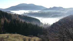 Banská Štiavnica: Winter inversion in UNESCO silver city
